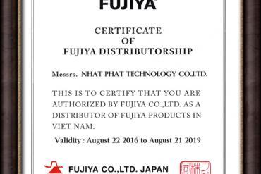 Giấy Chứng Nhận Đại Lý Fujiya