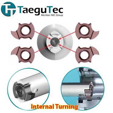 Internal Grooving   Tiện rãnh trong   Taegutec