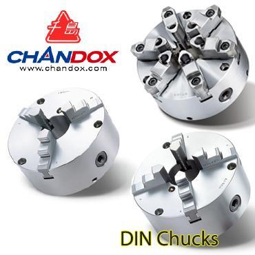 MÂM CẶP CHUẨN DIN (DIN CHUCKS) CHANDOX