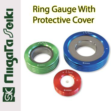 RING GAUGE WITH PROTECTIVE COVER (NIIGATA SEIKI JAPAN)