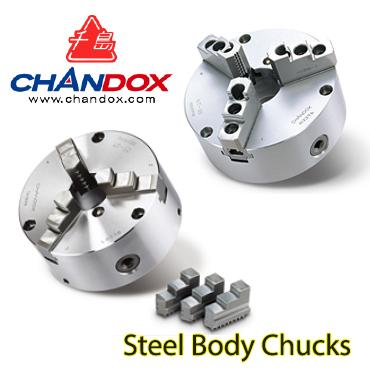 MÂM CẶP THÂN BẰNG THÉP (STEEL BODY CHUCKS) CHANDOX